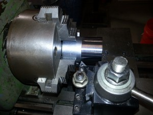 Turning down the motor case