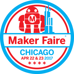Maker Faire Chicago Badge